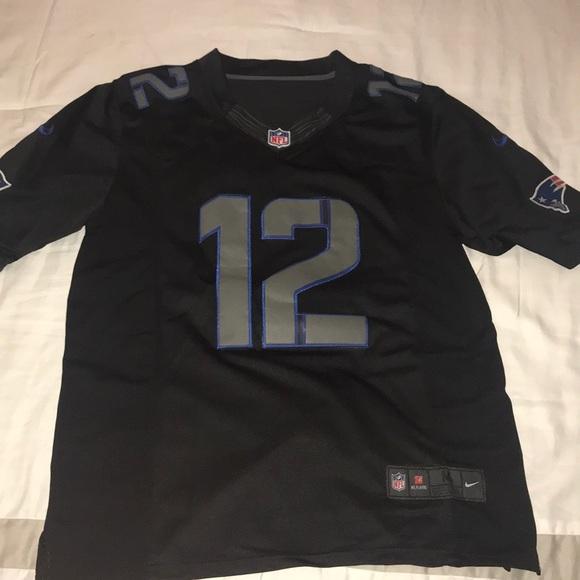 black tom brady jersey
